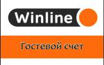 Демо счет Винлайн — бесплатное пари вместо гостевого счета