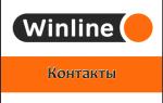 Горячая линия Winline и телефон службы техподдержки