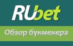 Букмекерская контора Rubet com: обзор сайта и ставок