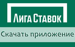Скачать мобильное приложение Лига Ставок на телефон