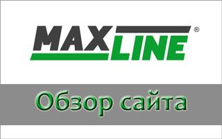 Обзор сайта БК Макслайн